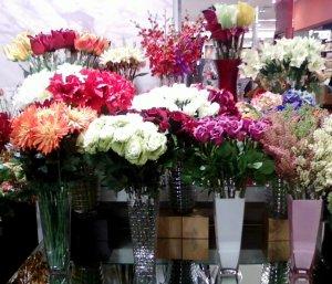 aneka vas bunga dan artificial