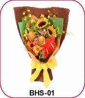 special hand bouquet
