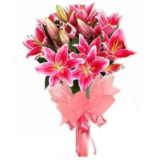 buket bunga casablanca