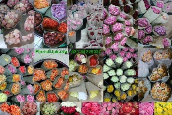 jual bunga mawar segar