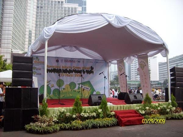 desain taman panggung