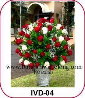 Bunga Mawar 100 Tangkai Besar Spesial