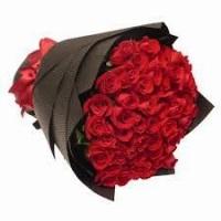 gamber bunga mawar valentine